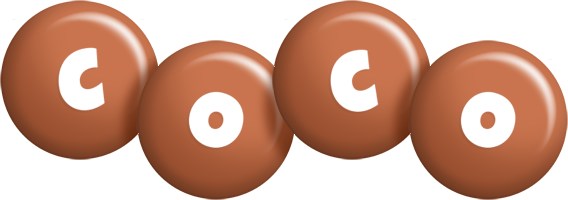 Coco candy-brown logo
