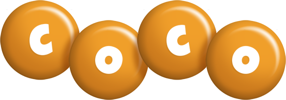 Coco candy-orange logo