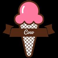 Coco premium logo