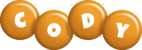 Cody candy-orange logo