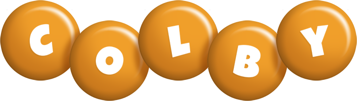 Colby candy-orange logo