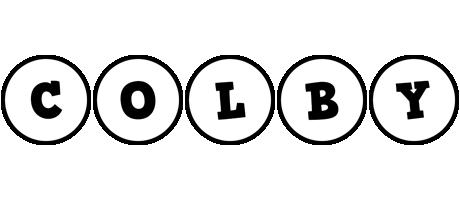 Colby handy logo