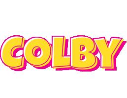 Colby kaboom logo