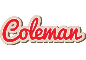 Coleman chocolate logo
