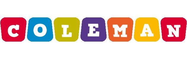 Coleman daycare logo