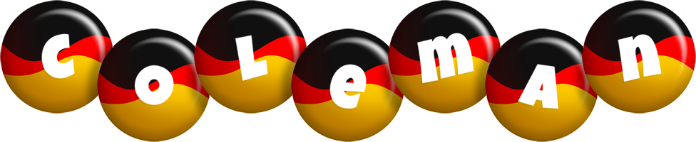 Coleman german logo