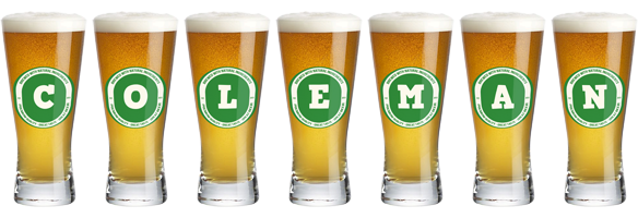 Coleman lager logo