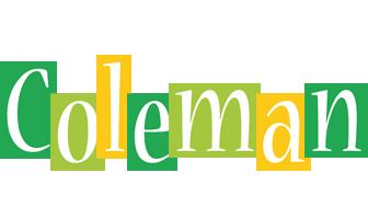 Coleman lemonade logo