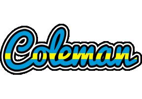 Coleman sweden logo
