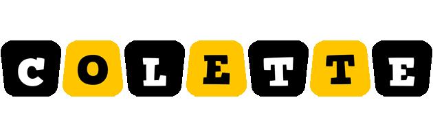 Colette boots logo