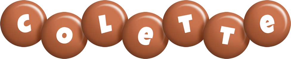 Colette candy-brown logo