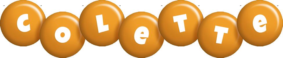 Colette candy-orange logo