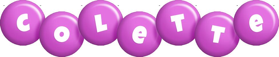 Colette candy-purple logo