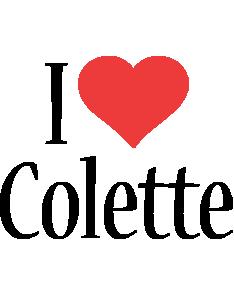 Colette i-love logo