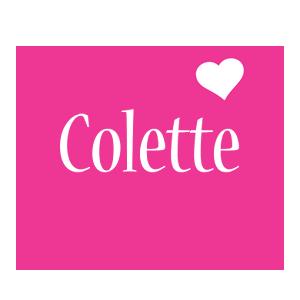Colette love-heart logo