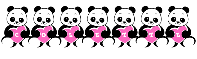 Colette love-panda logo