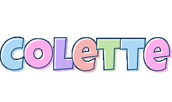 Colette pastel logo
