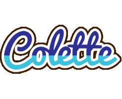 Colette raining logo