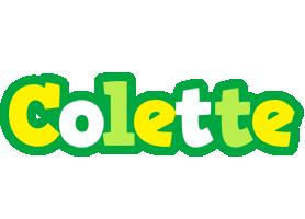 Colette soccer logo