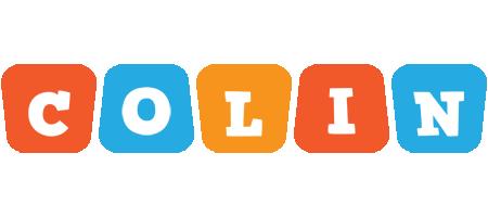 Colin comics logo