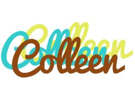 Colleen cupcake logo
