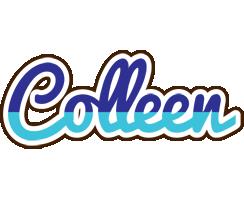 Colleen raining logo