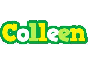 Colleen soccer logo