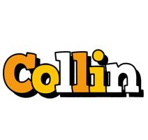 Collin cartoon logo
