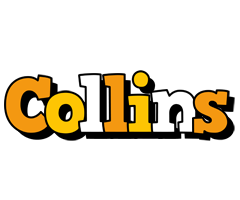 Collins cartoon logo