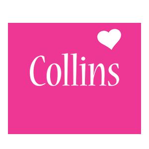 Collins love-heart logo