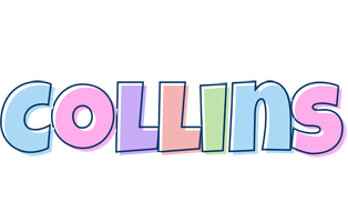 Collins pastel logo