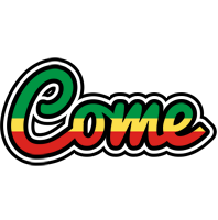 Come african logo