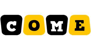 Come boots logo
