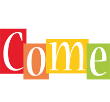 Come colors logo