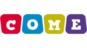 Come daycare logo