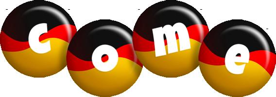 Come german logo