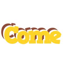 Come hotcup logo