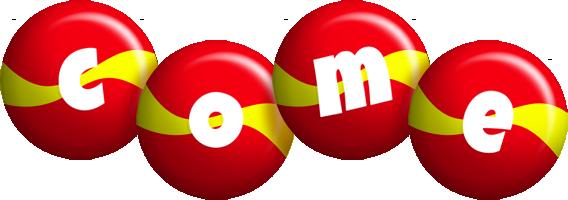 Come spain logo