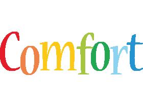 Comfort birthday logo