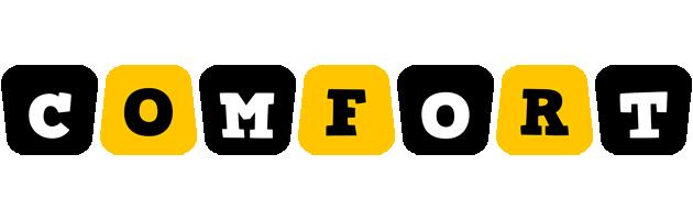 Comfort boots logo