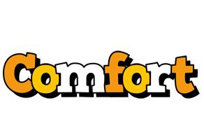 Comfort cartoon logo
