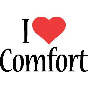 Comfort i-love logo