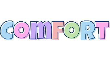 Comfort pastel logo