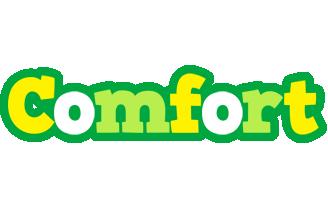 Comfort soccer logo