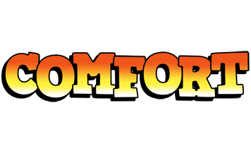 Comfort sunset logo