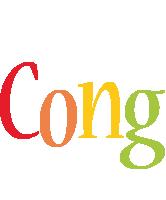 Cong birthday logo