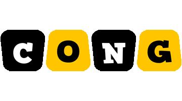Cong boots logo