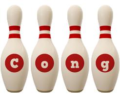 Cong bowling-pin logo