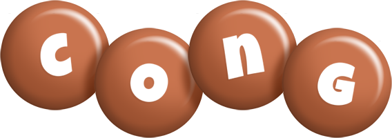 Cong candy-brown logo