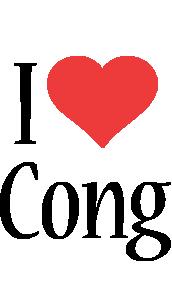 Cong i-love logo